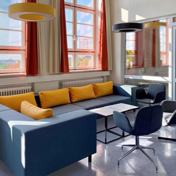 Co-Working-Space in der Hotelfachschule